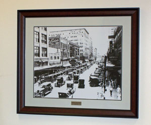 Corporate Art Projects: Houston Main Street, ca. 1920s