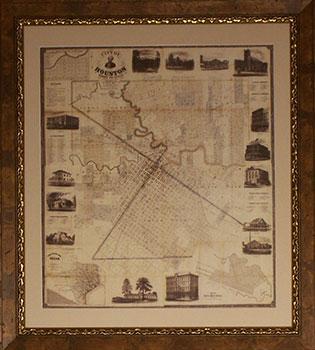 Houston Texas Vintage Photos & Maps | TurnKey Art Solutions 281-955-5400